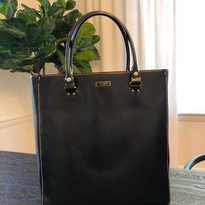 STUNNING Kate Spade black pebbled leather bag
